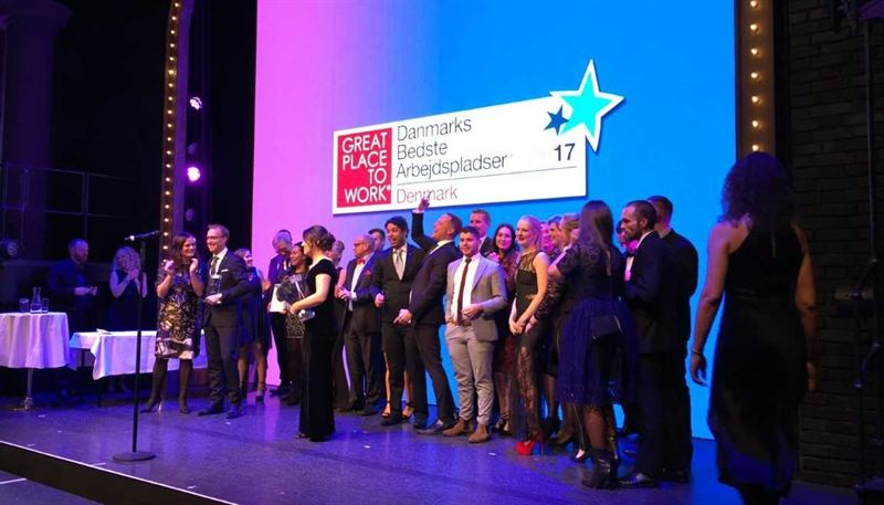 Scandic Hotels named Denmark s Best Workplace