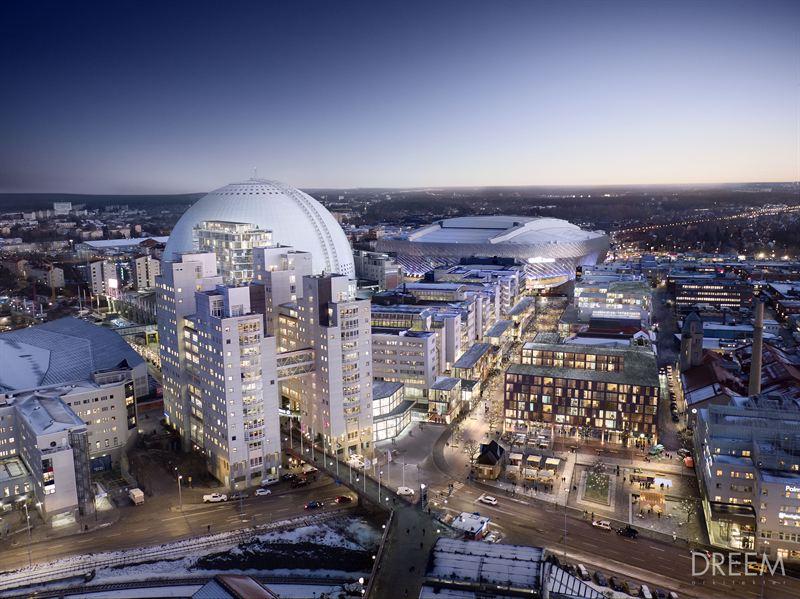globen shopping center