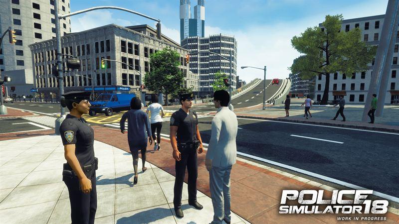 Výsledek obrázku pro police simulator 18