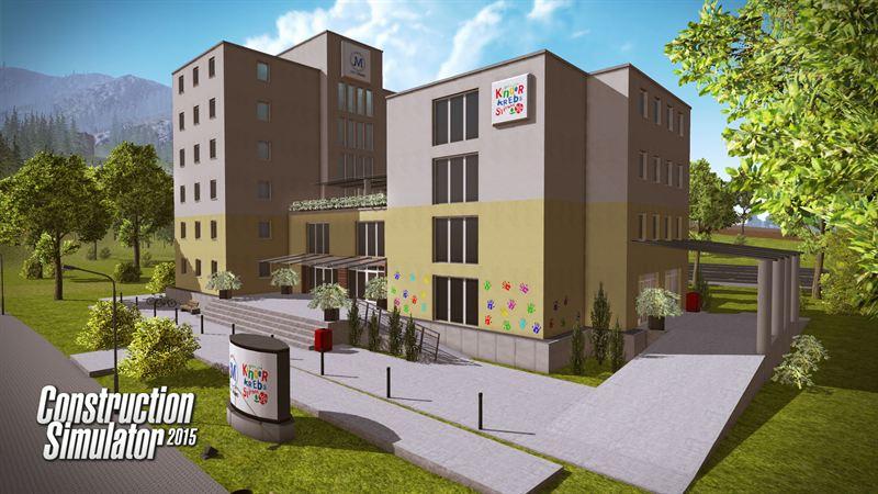 Construction Simulator 2015: St. Johnu0027s Hospital Fuchsberg