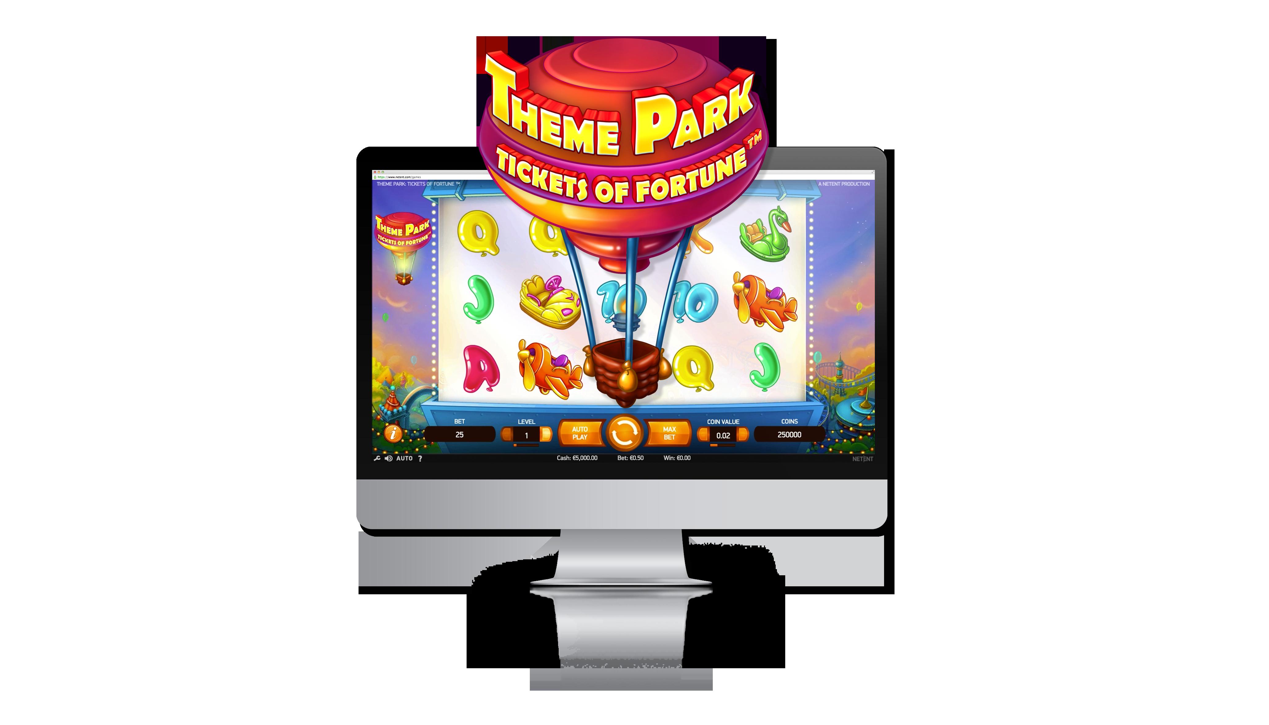theme park netent