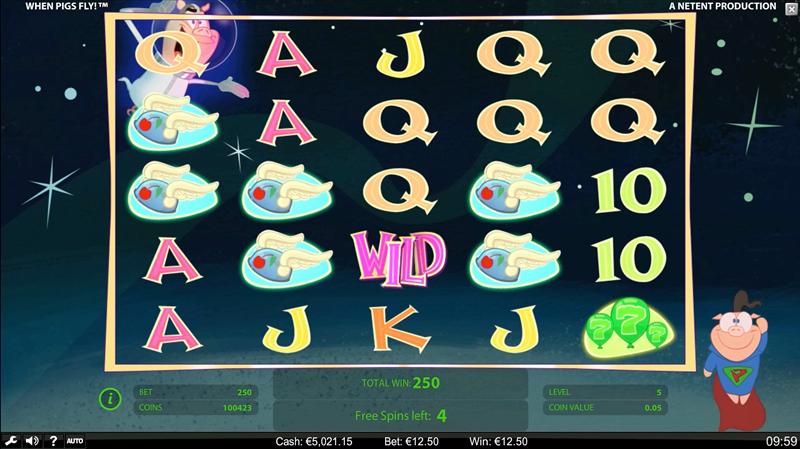 screenshots WPF Freespins