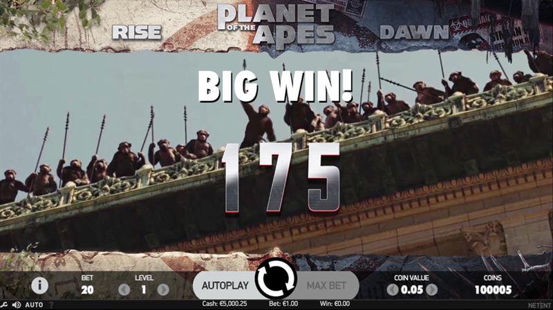 03 planet of the apes screenshot big win