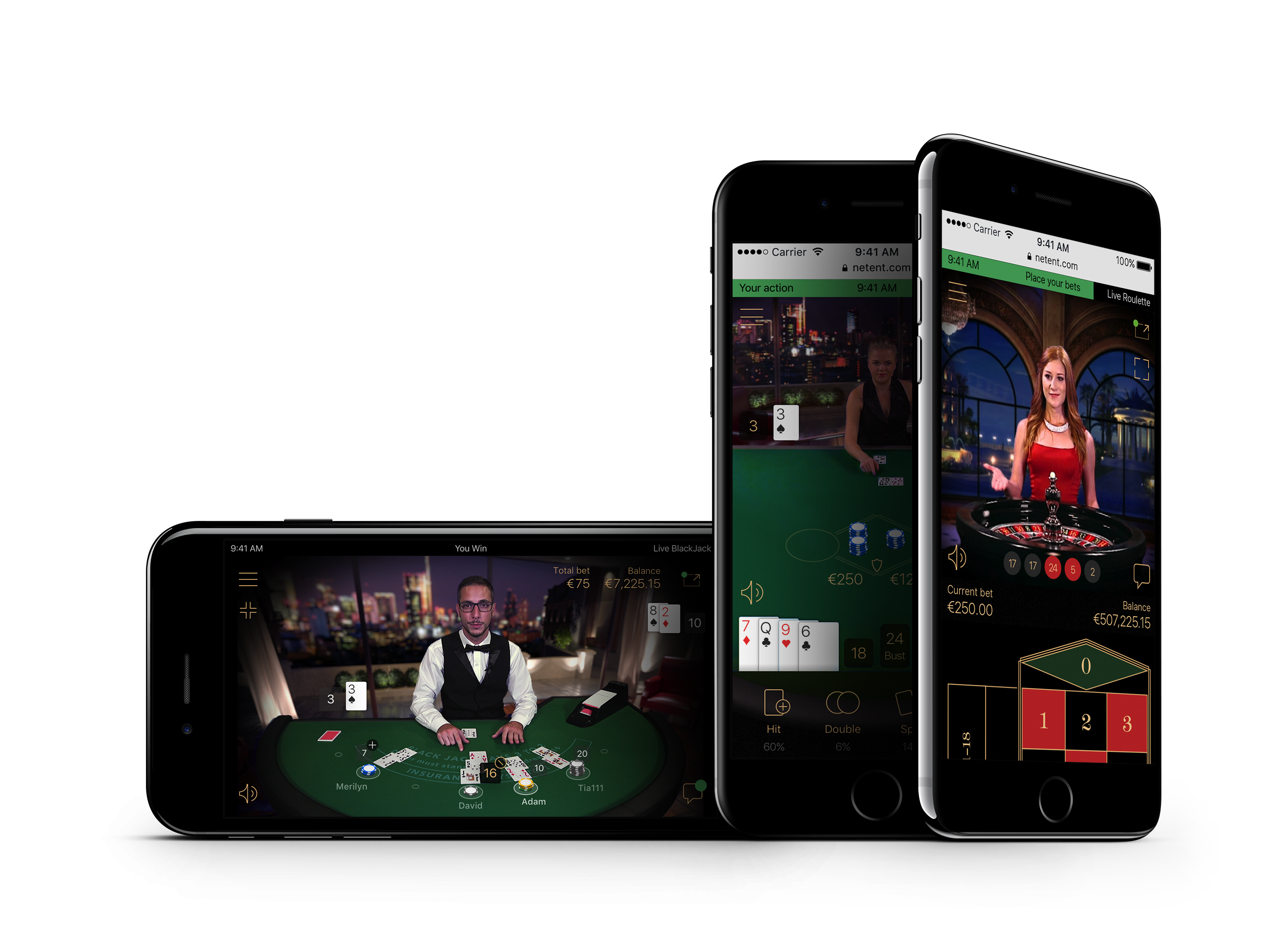 Mobile Standard Blackjack, a mobile-first version of the table classic