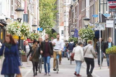 Cyclists contribute to a more vibrant and safer urban environment