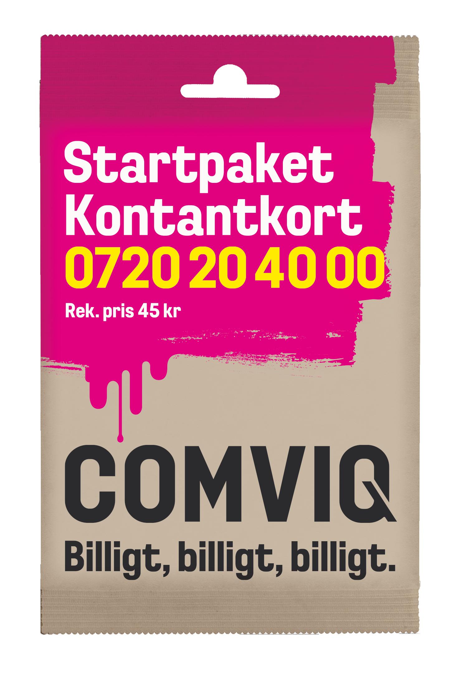 startpaket comviq