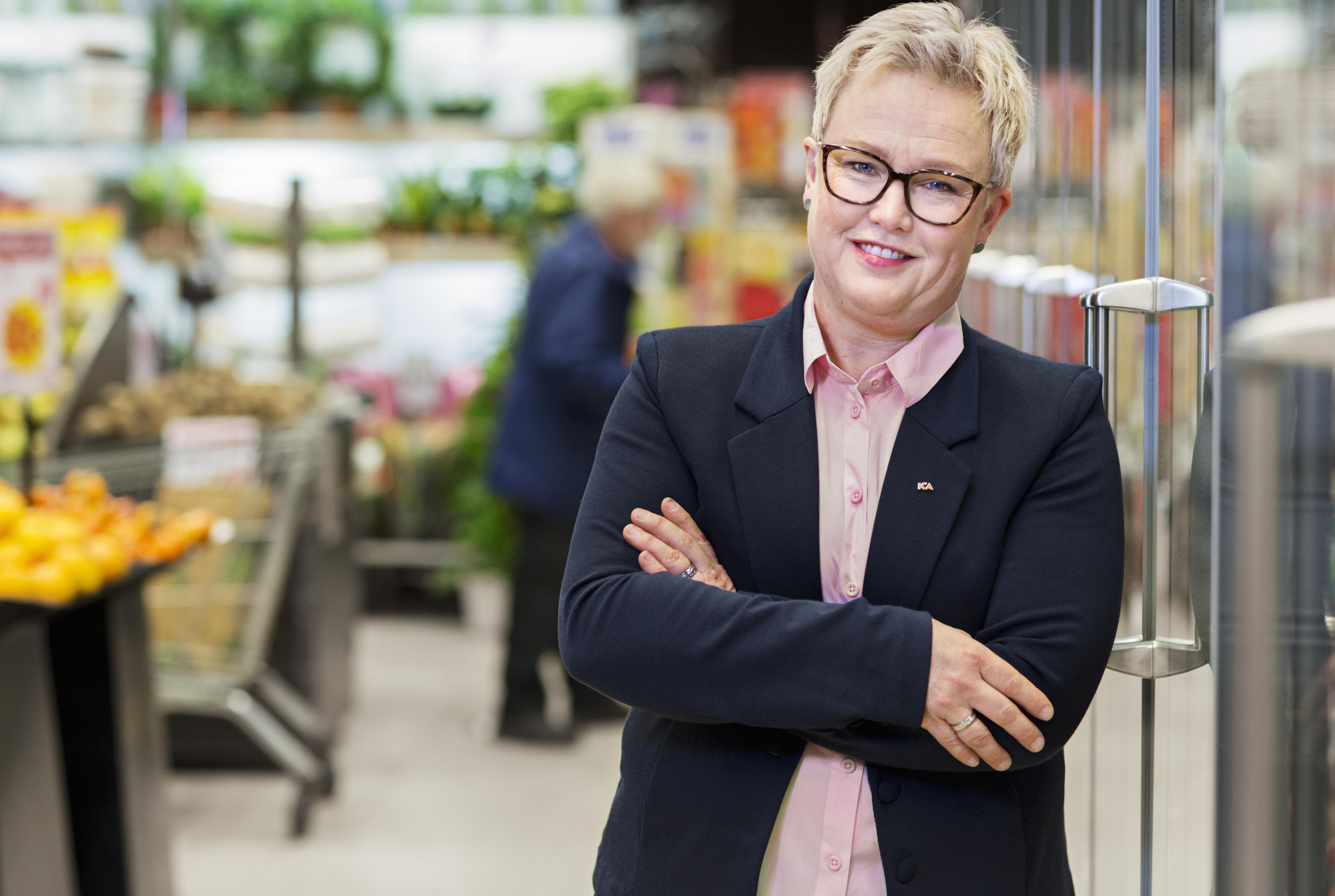 ICA-handlare Anette Wiotti tar plats i ICA Gruppens styrelse