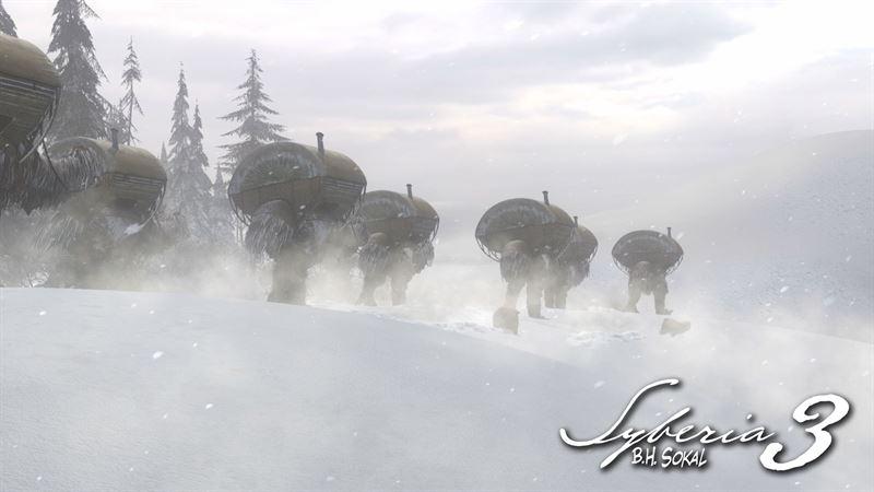 Syberia 3 Snow