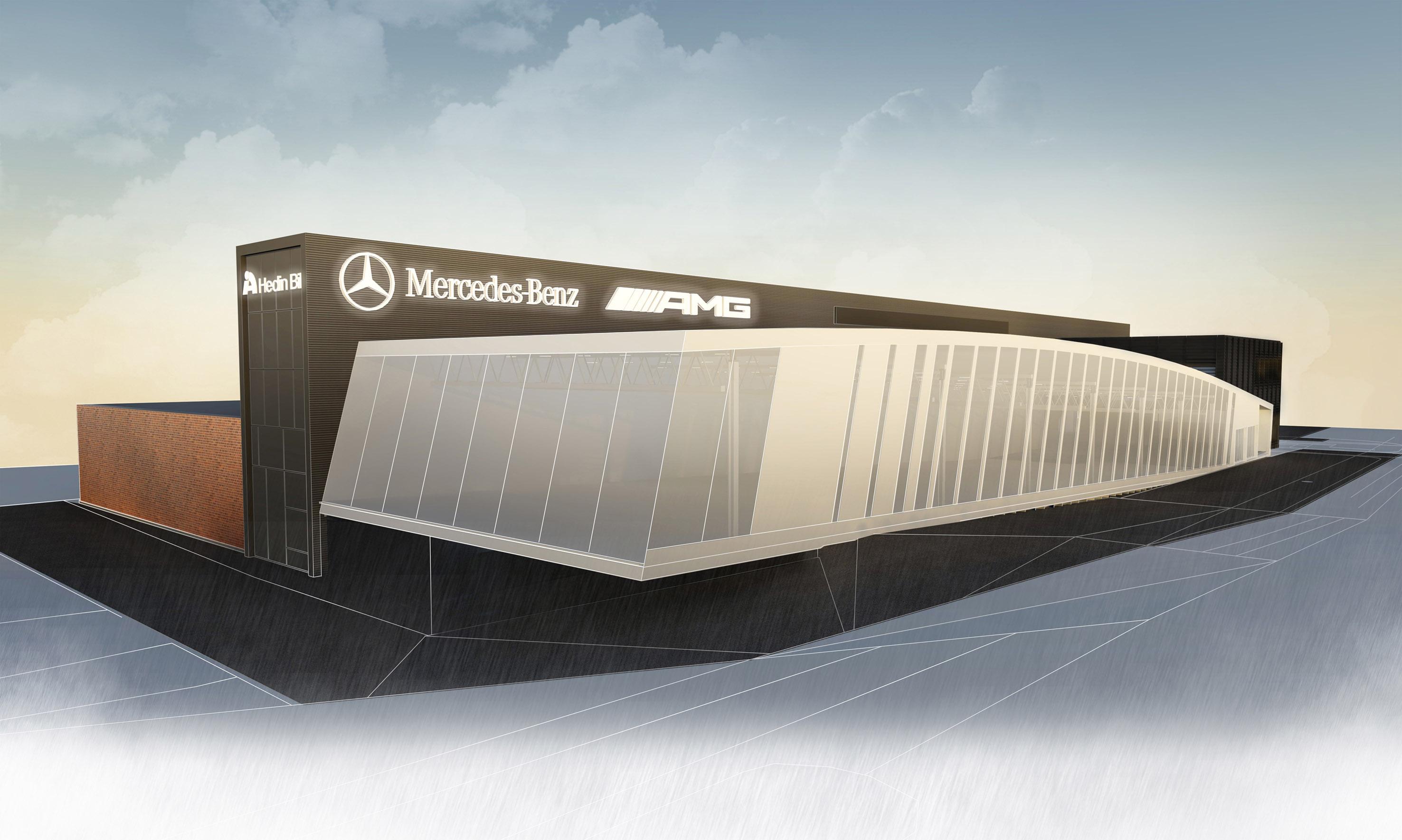 Hedin Bil AMG Center - Mercedes-Benz