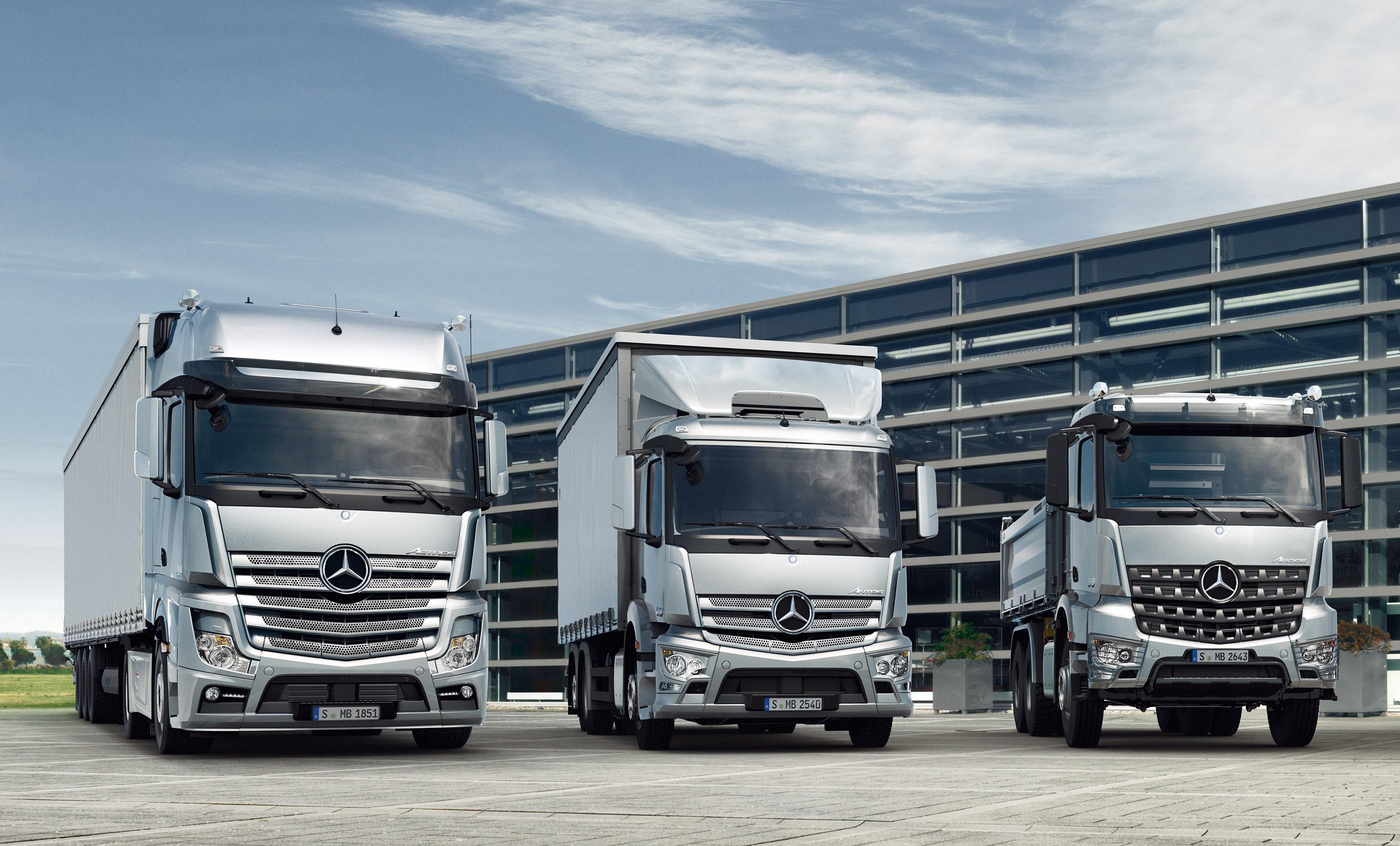 Actros antos och arocs mercedes benz for Mercedes benz syracuse ny