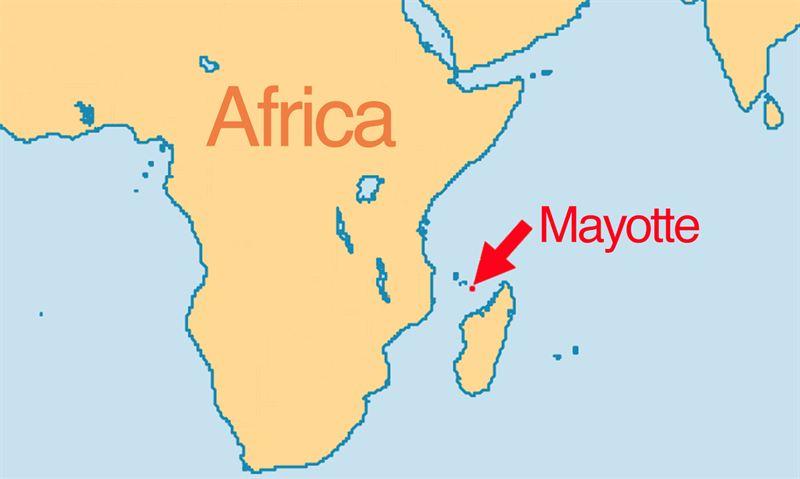 Mayotte Map Sea Shepherd Global