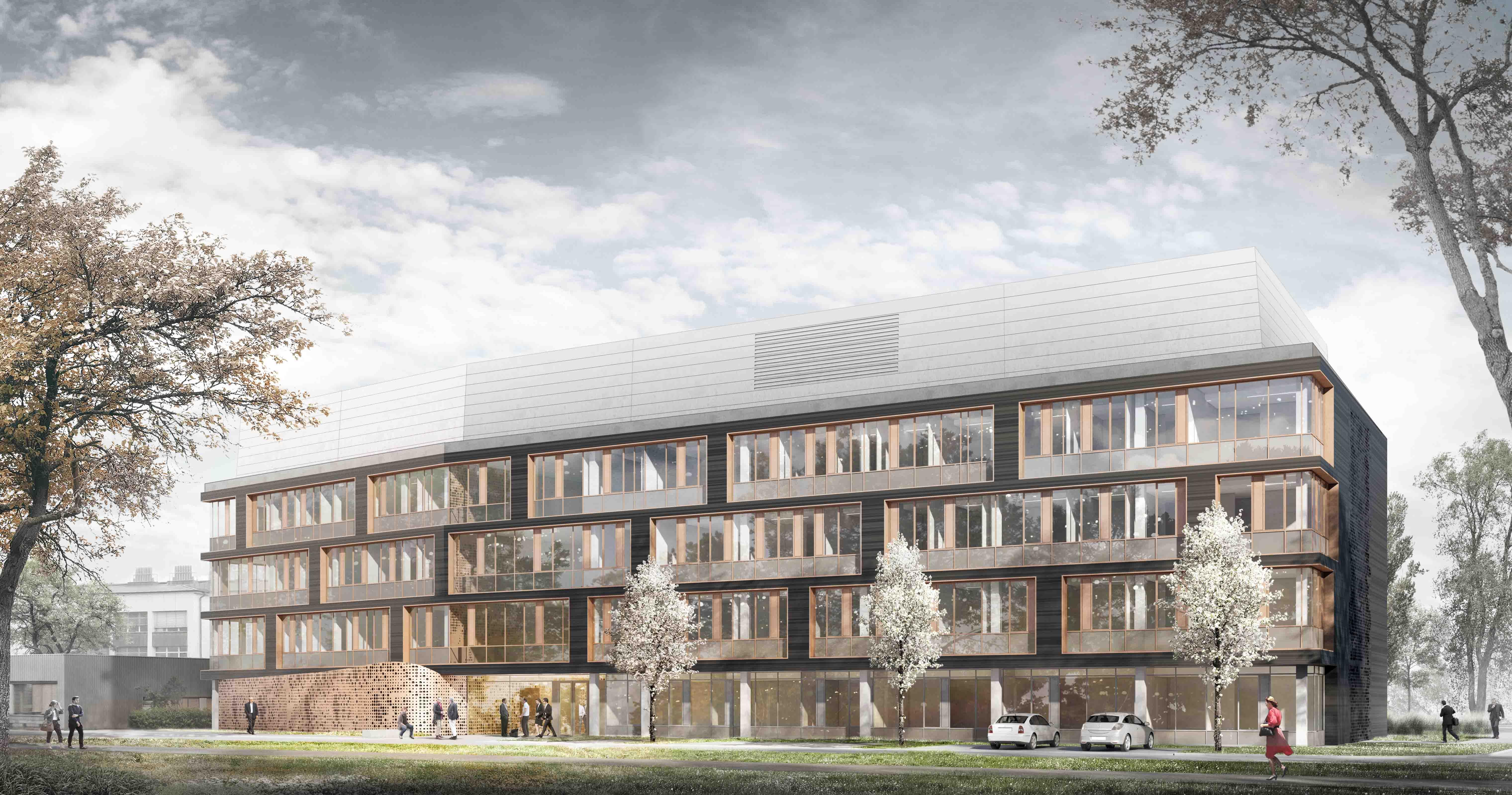 Neues Zentrum für Wirkstoff- und Funktionelle Genomforschung des HZI © doranth post architekten GmbH