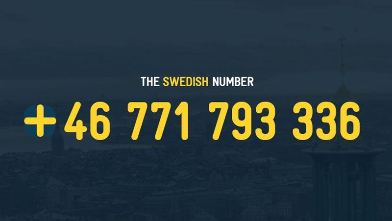 telefonnummer i sverige scort