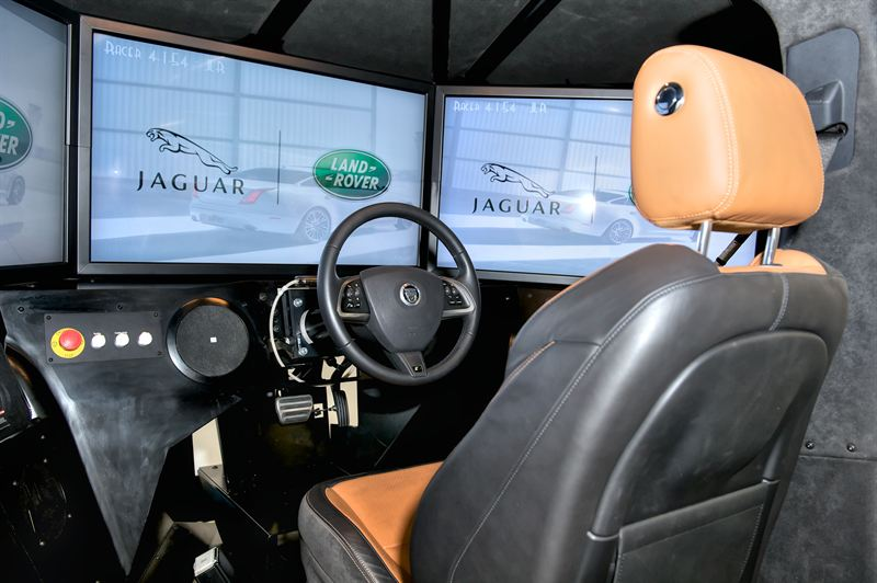 how to make a driving simulator