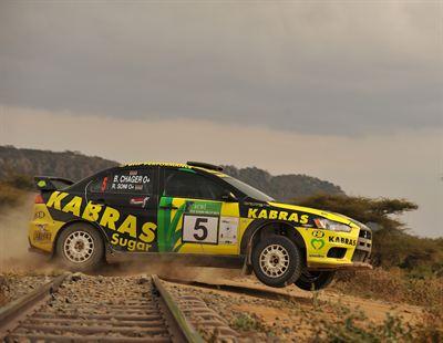 Jrm Mitsubishi Evo X Scores Outright Victory In Safari Rally