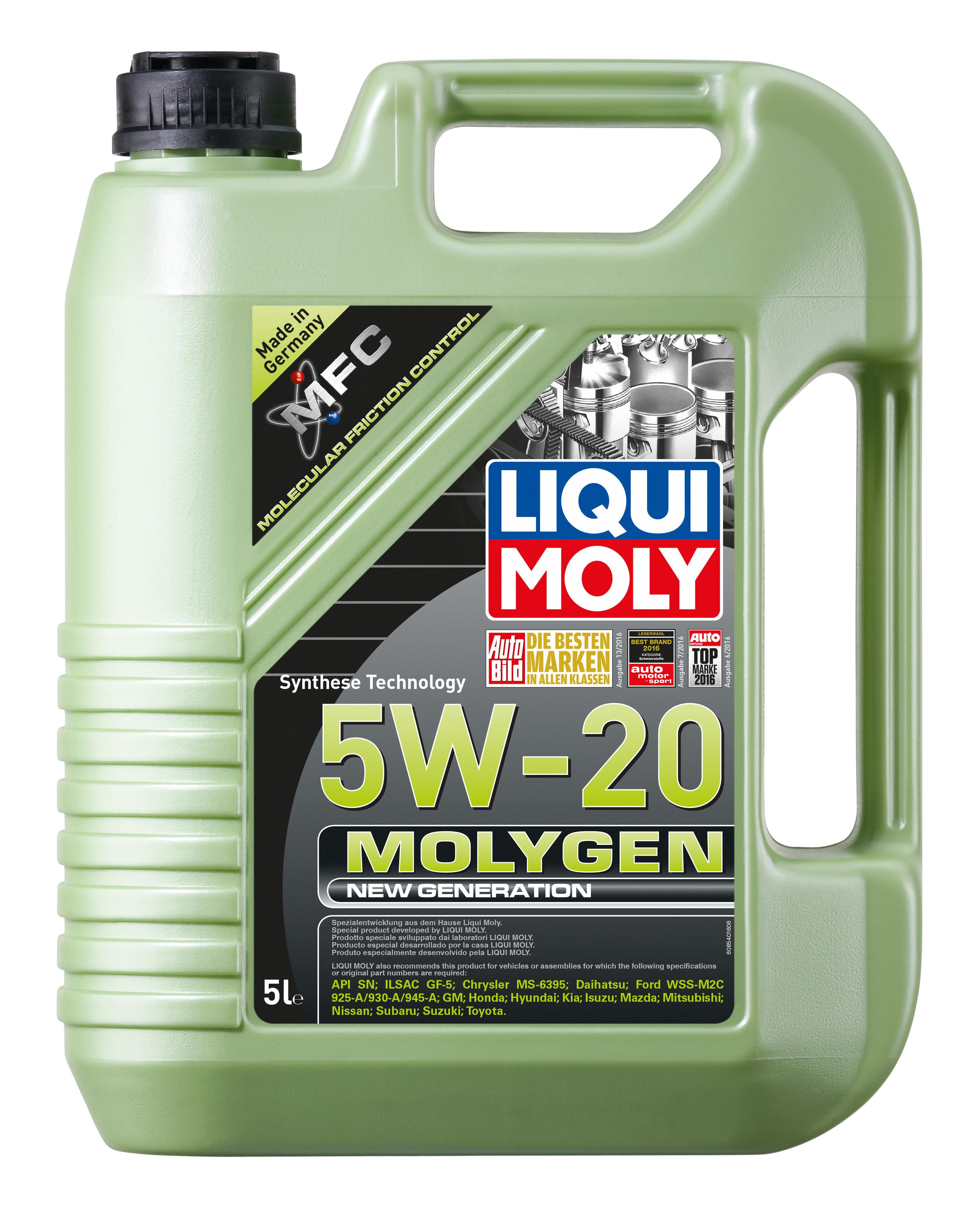 Molygen 5w 20 Liqui Moly