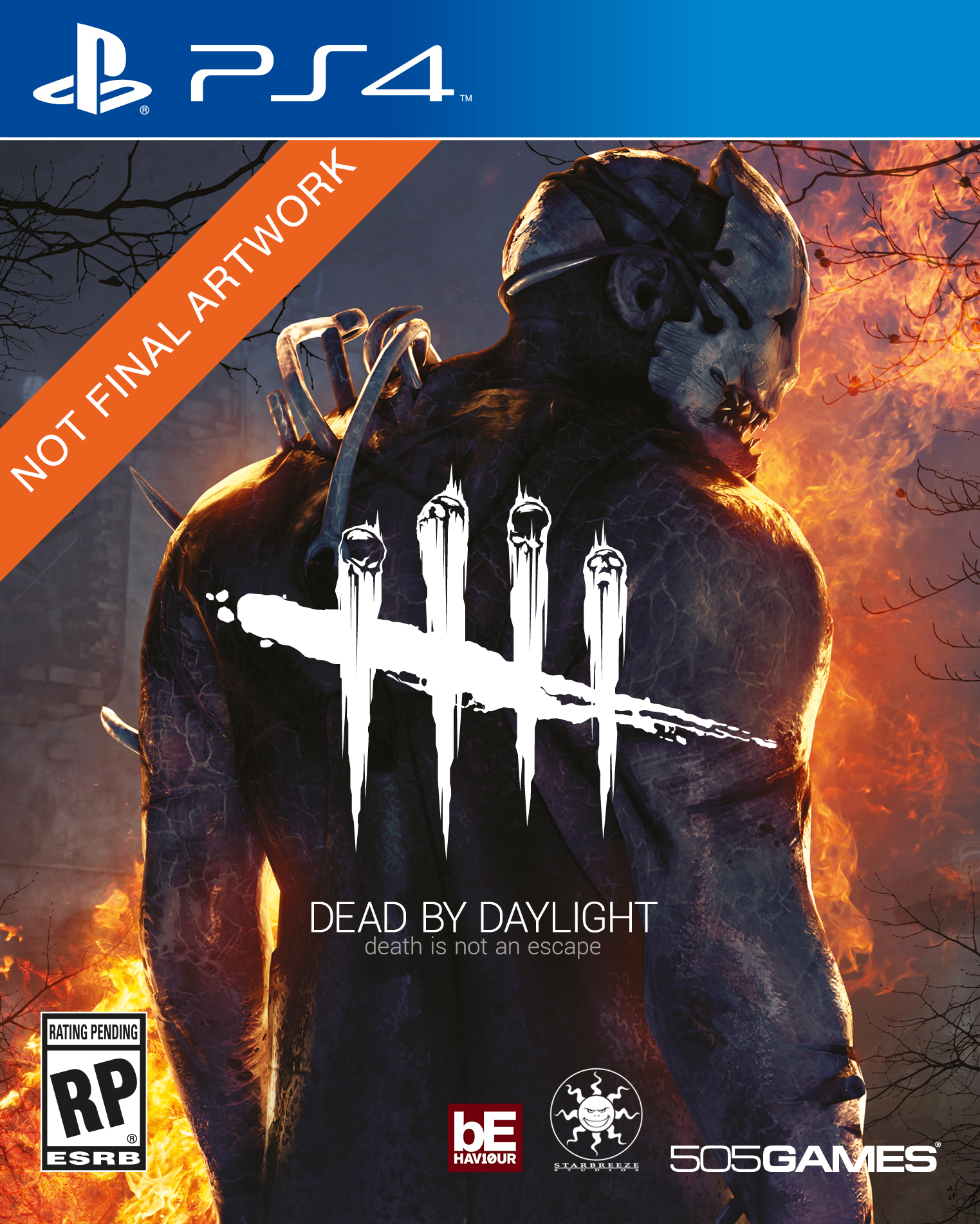 2D PS4 Dead by Daylight ESRB
