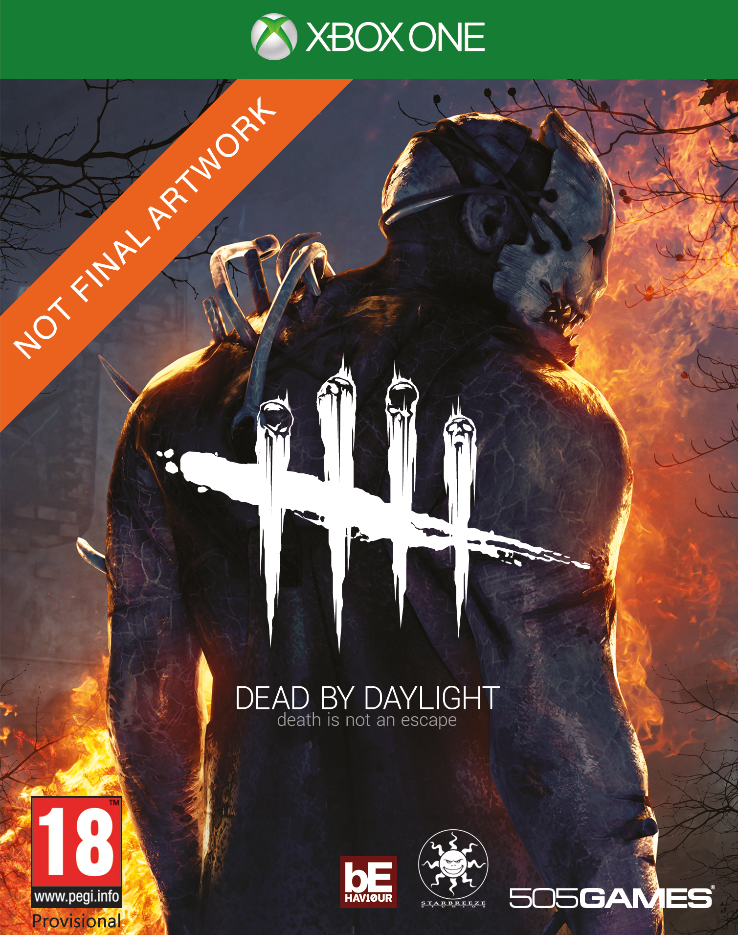 2D XB1 Dead by Daylight PEGI