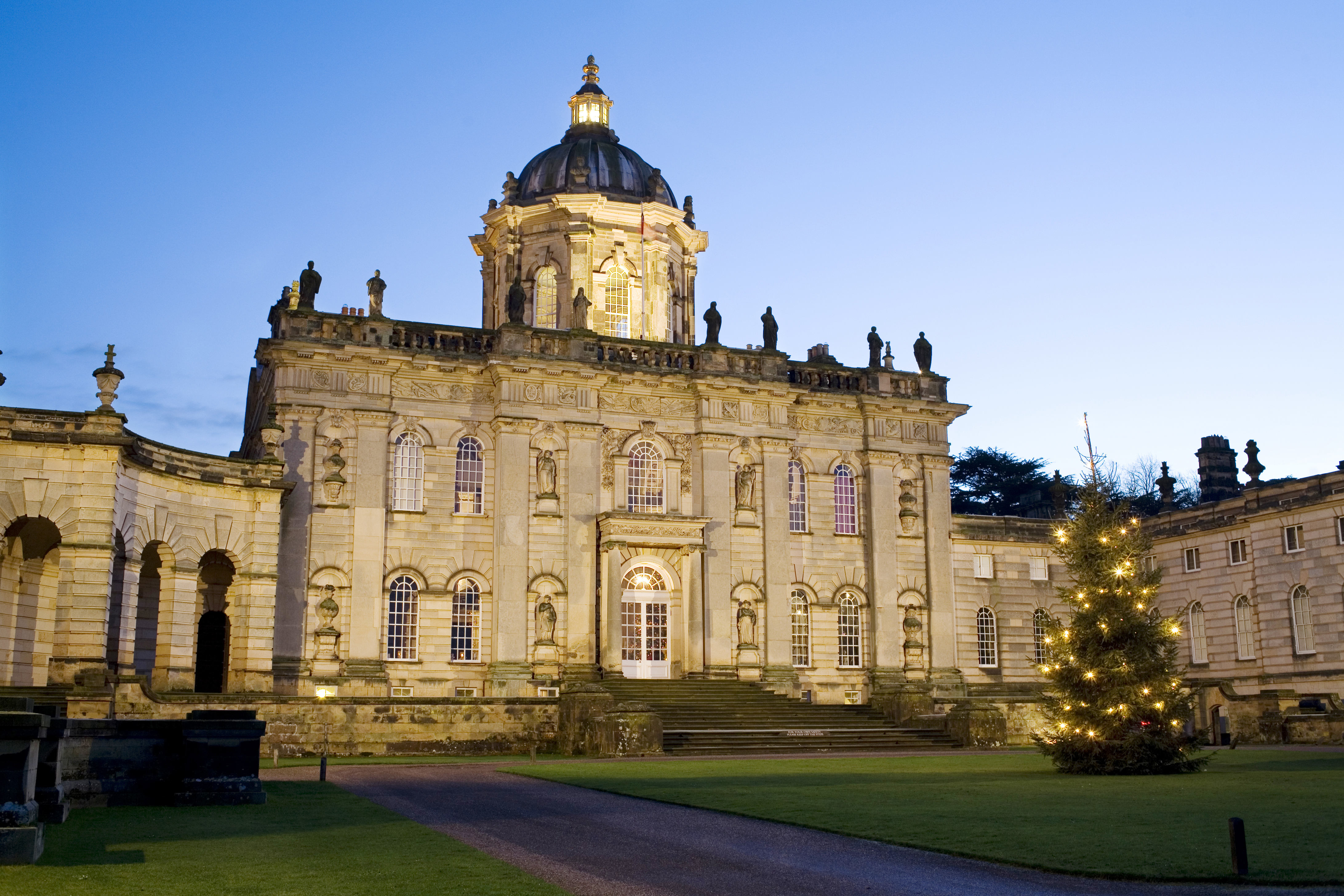 Castle howard christmas 2015