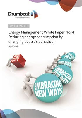 Energy management white paper on behavioural change