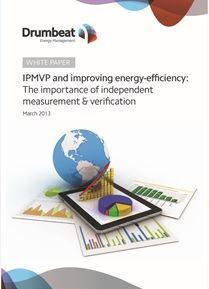 Energy management white paper on independent measurement and verification