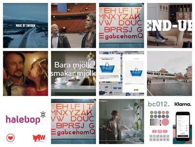 Svensk prisad for reklamfilm