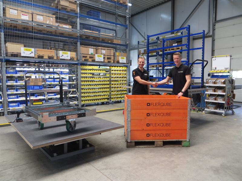 FlexQube and Multitube launch partnership in Netherlands and Belgium