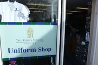 entrance to King s school shop