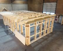 Si Modular Sustainable Building System With Timber I Beams Metsa Wood