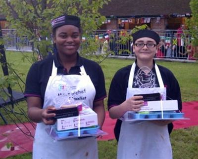Bushey Academy Masterchef winners Ryan Fardela and Nice Mutaviri