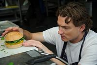 Ash Mair puts finishing touches to Cucina burger