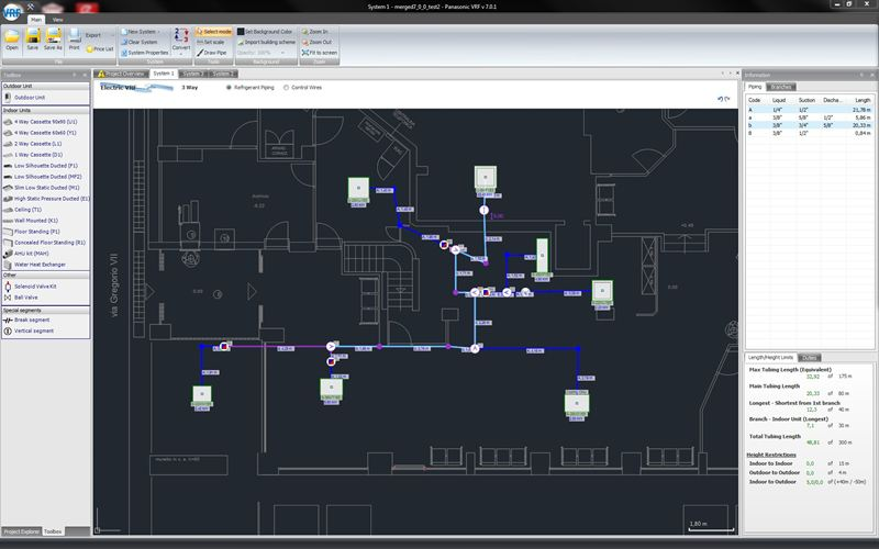 Panasonic S New Advanced Vrf Software With Autocad