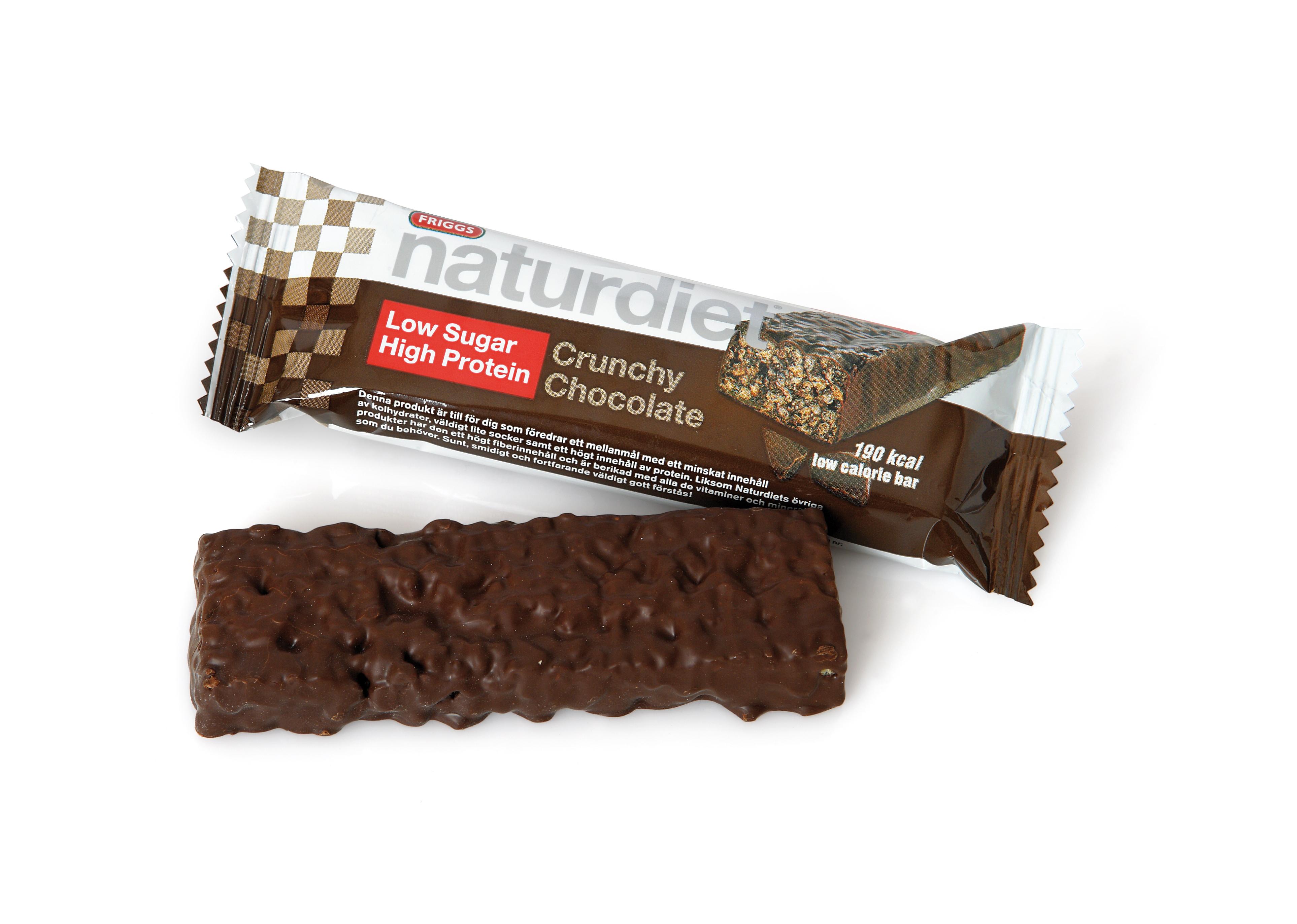 naturdiet crunchy chocolate