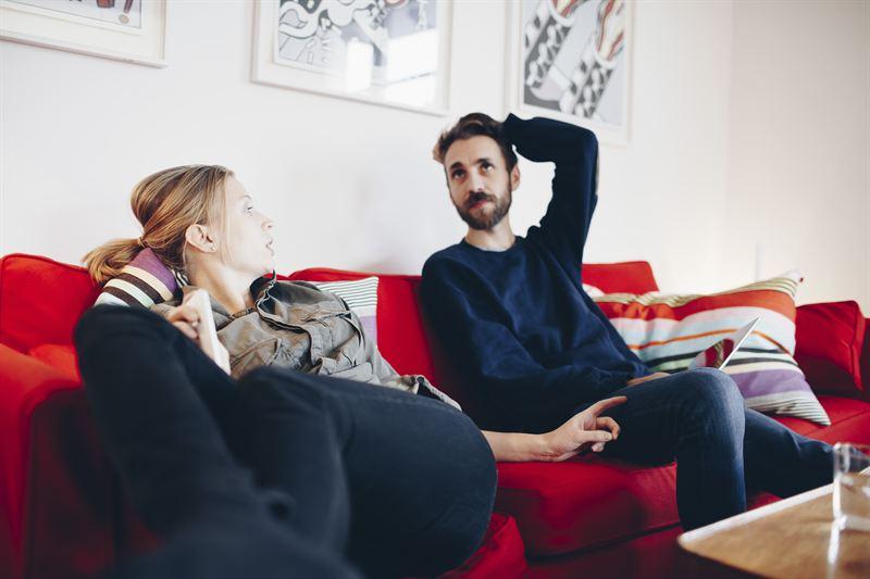 Par i soffa