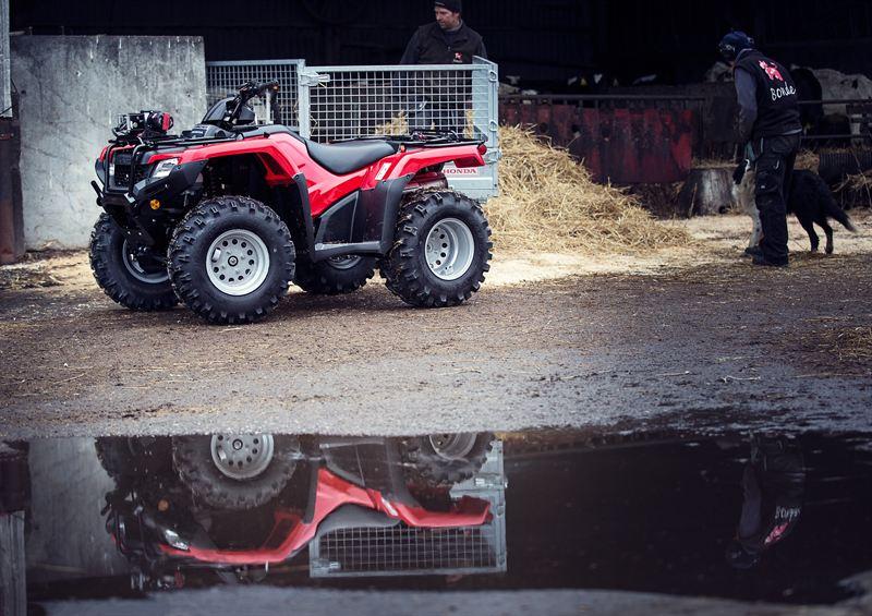 Honda Fyrhjuling på lantbruk