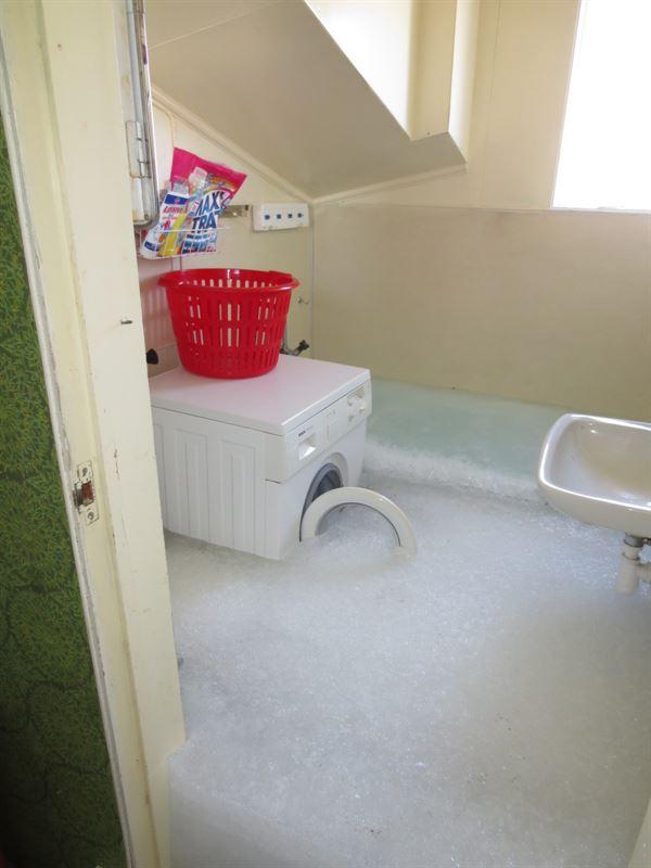 Vattenskada överfryst badrum