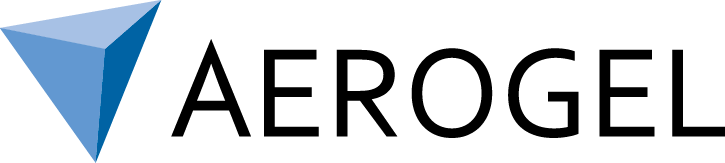 Aerogel logo blue
