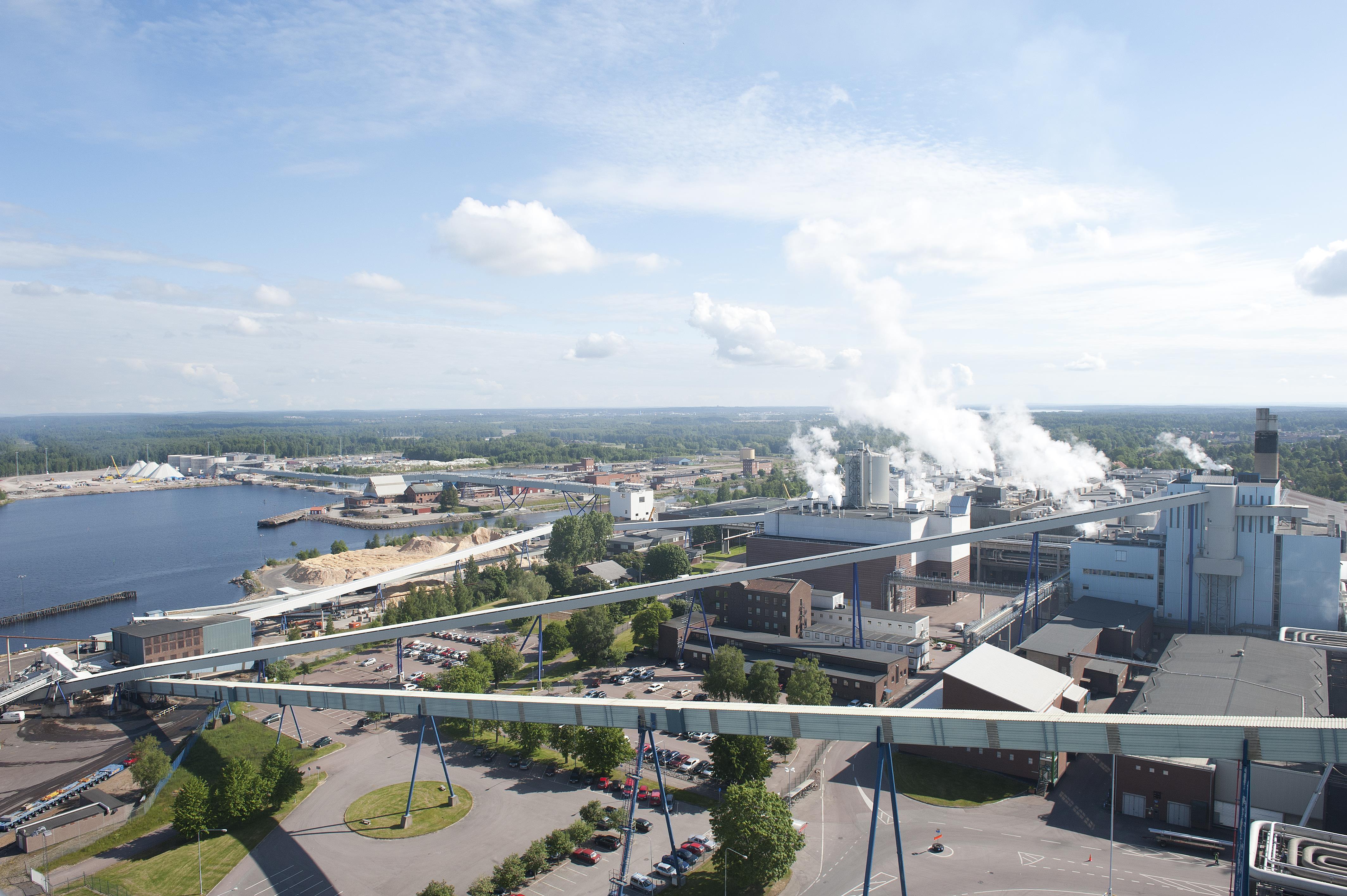 Skoghall Mill in Sweden - ÅF AB on