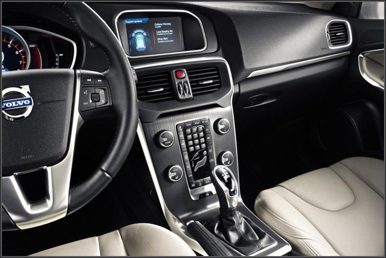 Volvo dashboard