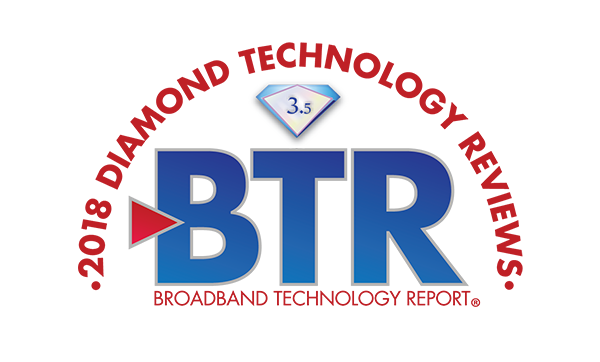 InCoax is recognized for innovation through Diamond Technology Award from Broadband Technology Report