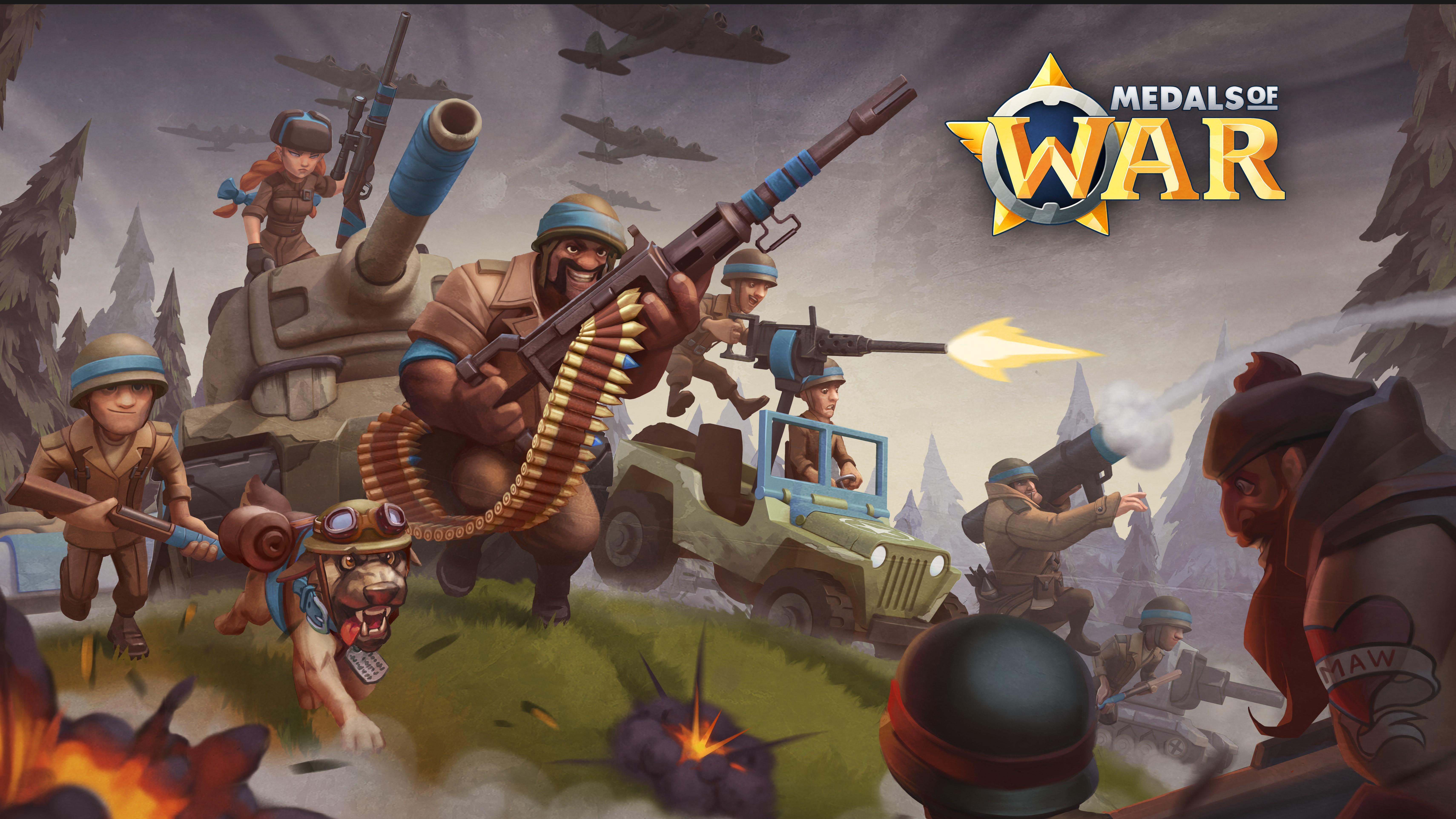 Breakit - Nitro Games launches Medals of War!