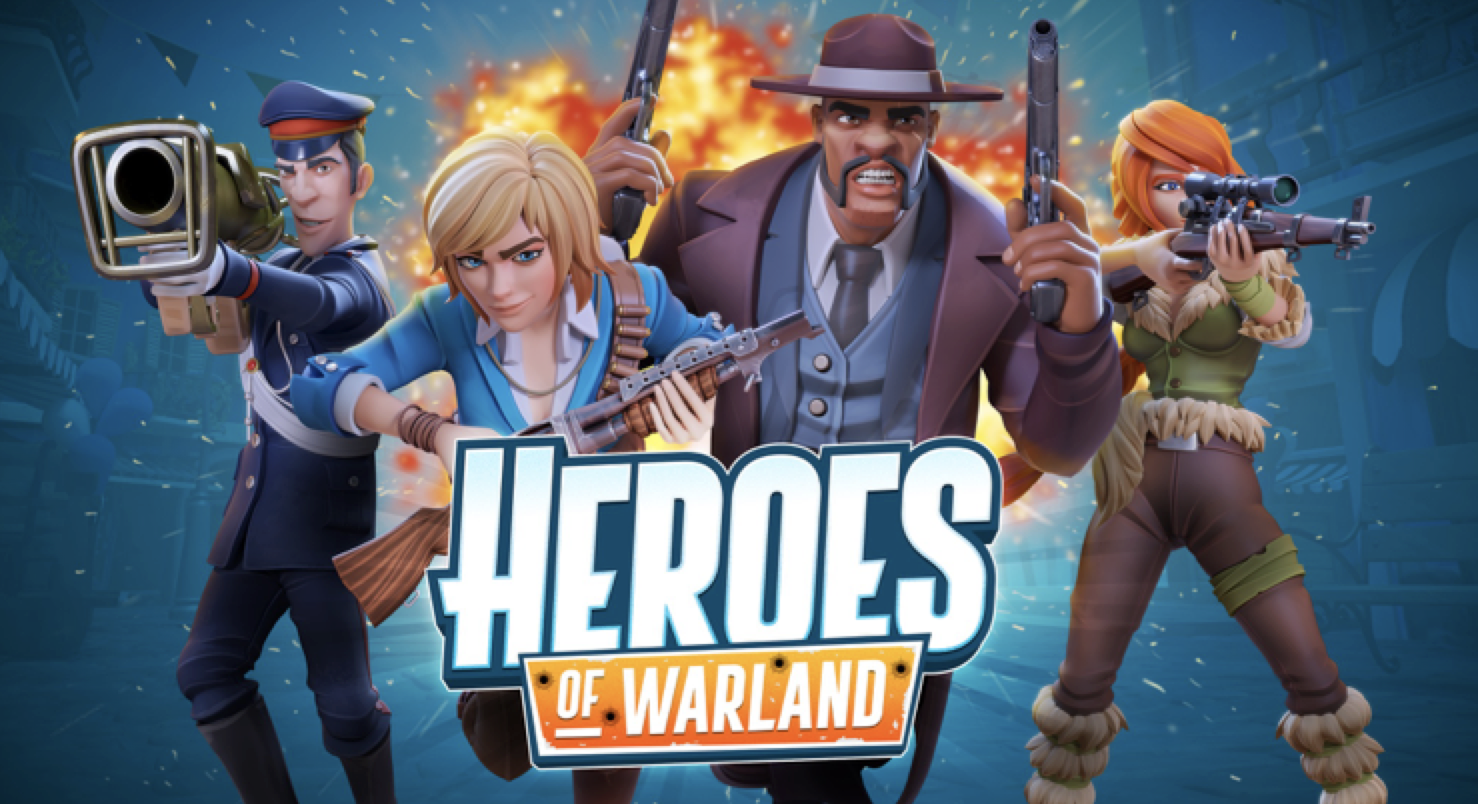 Heroes of Warland launched on iOS and Android