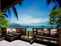 Gaya Island Resort Villa View - small