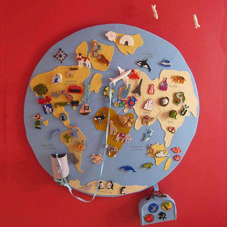 Поделки своими руками для детского сада глобус