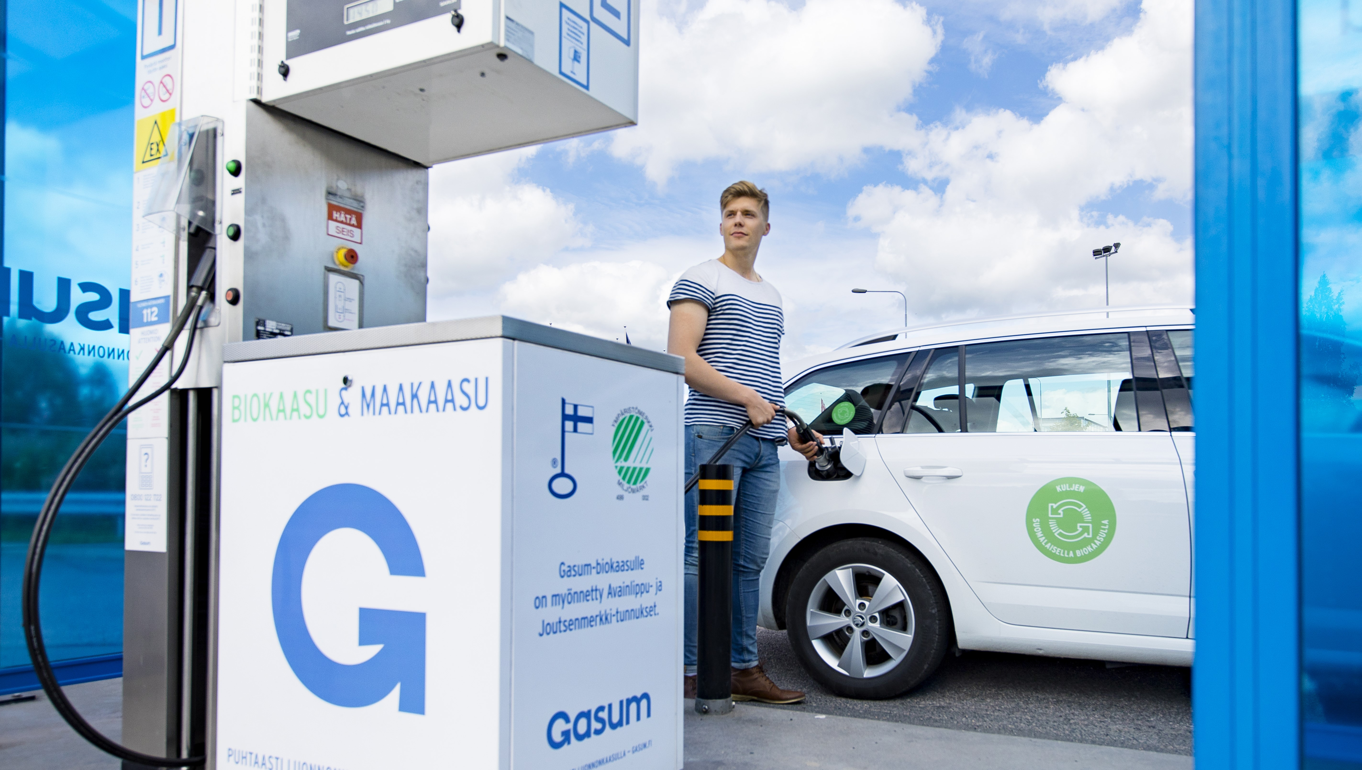 Filling Station At Ikea Vantaa Now Serves Gas Cars