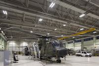 RAF Benson - Hanger Lighting 2 - PriDE