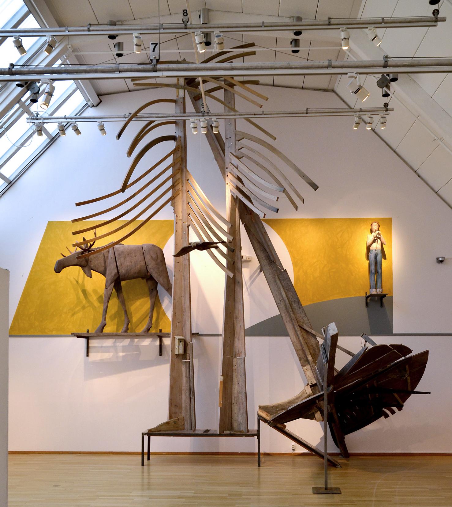 Breakit - Pressinbjudan: Skulpturverket Skogen återuppförs