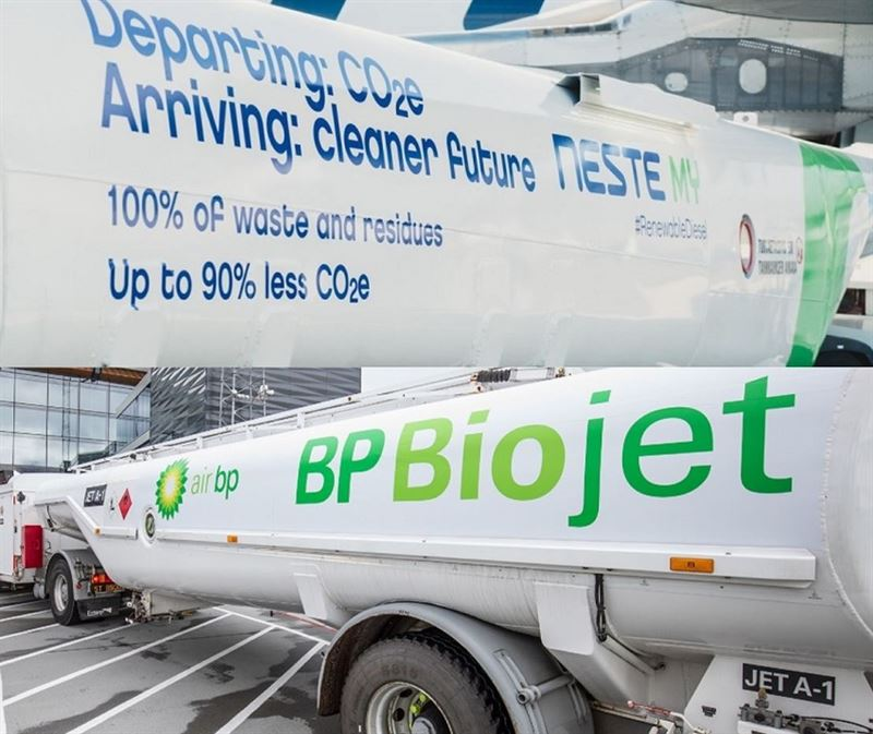 Neste and Air BP enter into innovative industry
