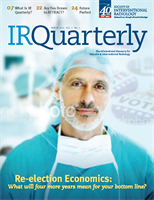 Society of Interventional Radiology's IR Quarterly