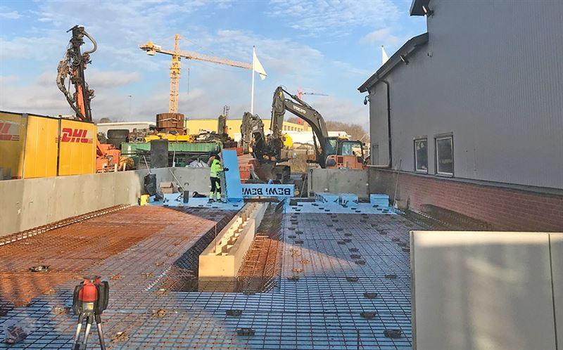 Systemhus bygger tvtthall i UpplandsBro